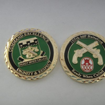 105th Military Police Battalion Commander's Coin
