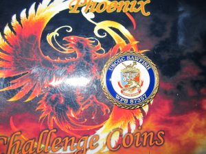 US Coast Guard Cutter WPB 83757 Sawfish Custom Coast Guard Coin By Phoenix Challenge Coins