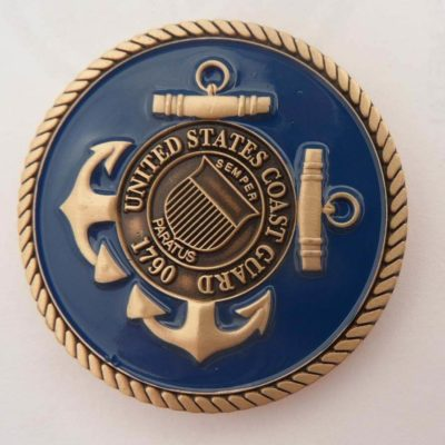 USCG Station Wrightsville Beach Challenge Coin by Phoenix Challenge Coins
