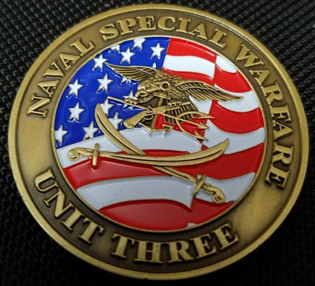 Us Navy Seal Naval Special Warfare Unit 3 Ctf 561 Deployment Coin