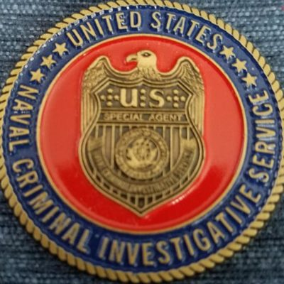 Rare US Navy Criminal Investigative Service Middle East Field Office USN NCIS Challenge Coin