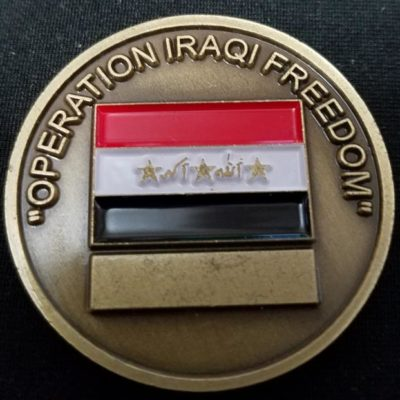 18th Airborne Corps OIF Operation Iraqi Freedom Deployment challenge coin