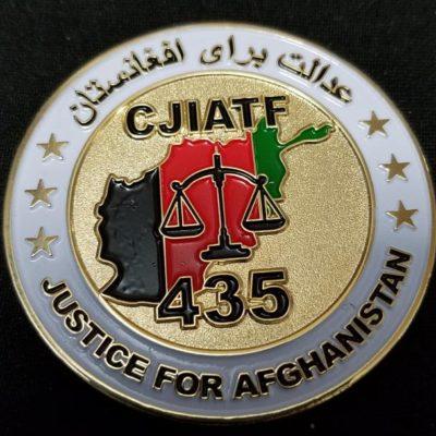 CJIATF-435 Camp Phoenix Afghanistan OEF HHD Deployment Challenge Coin by Phoenix Challenge Coins