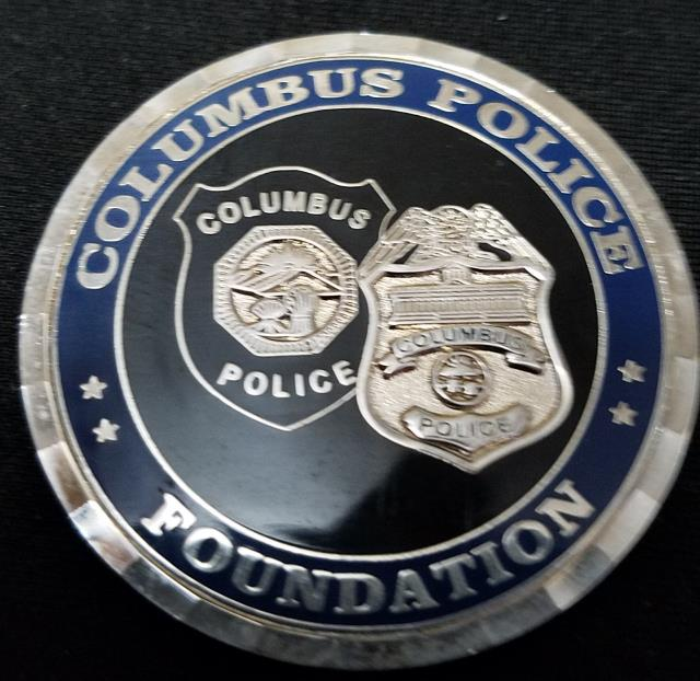 Make Columbus Ohio Police Department Challenge Coin