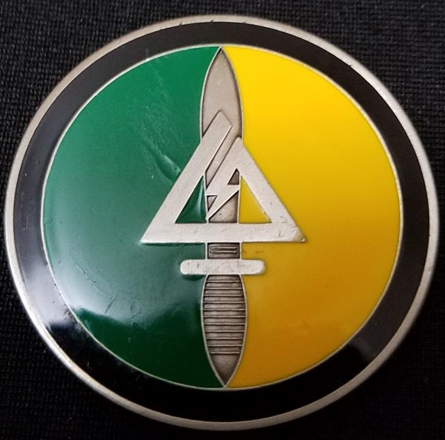 Rare Jsoc Delta Force Cag Tier 1 Smu V2 With Color Challenge Coin