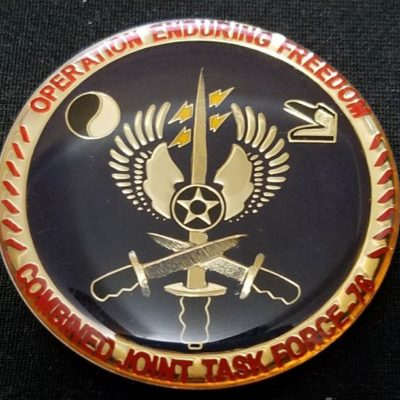 Provincial Reconstruction Team Jalalabad Combined Joint Task Force-76 CJTF-76 challenge coin