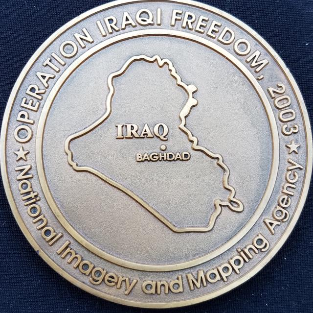 US Intel Community National Imagery And Mapping Agency OIF - Us mapping agency