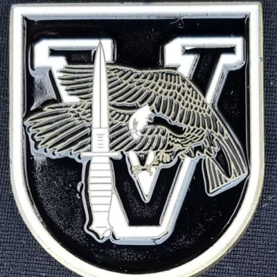 5th SFG (A) TF Dagger 5th Special Forces Group (Airborne) TAsk Force Dagger Flash Shaped Challenge Coin