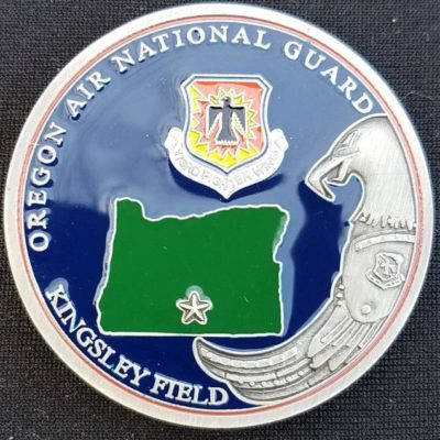 USAF 173D Medical Group Kingsley Field Challenge Coin by Phoenix Challenge Coins