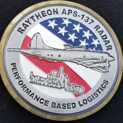 Raytheon AN/APS-137 AIP Program Director Challenge Coin By Phoenix Challenge Coins