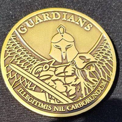 1st Mechanized Brigade Advisory Team Guardians OIF Combat Deployment Challenge Coin by Phoenix Challenge Coins