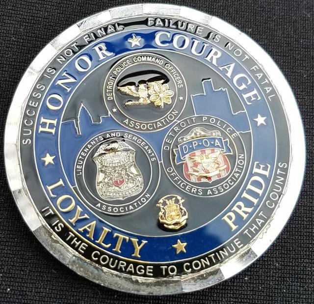 custom police challenge coins