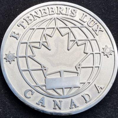 Canadian Defense Forces Intel School Commandant's Award by Phoenix Challenge Coins
