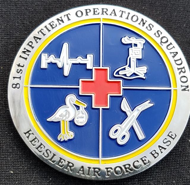 81 IPTS USAF Commanders Coin by Phoenix Challenge Coins