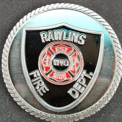 Rawlins WY Fire Coin