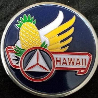 Civil Air Patrol Hawaii Director Of Cadet Programs Challenge Coin