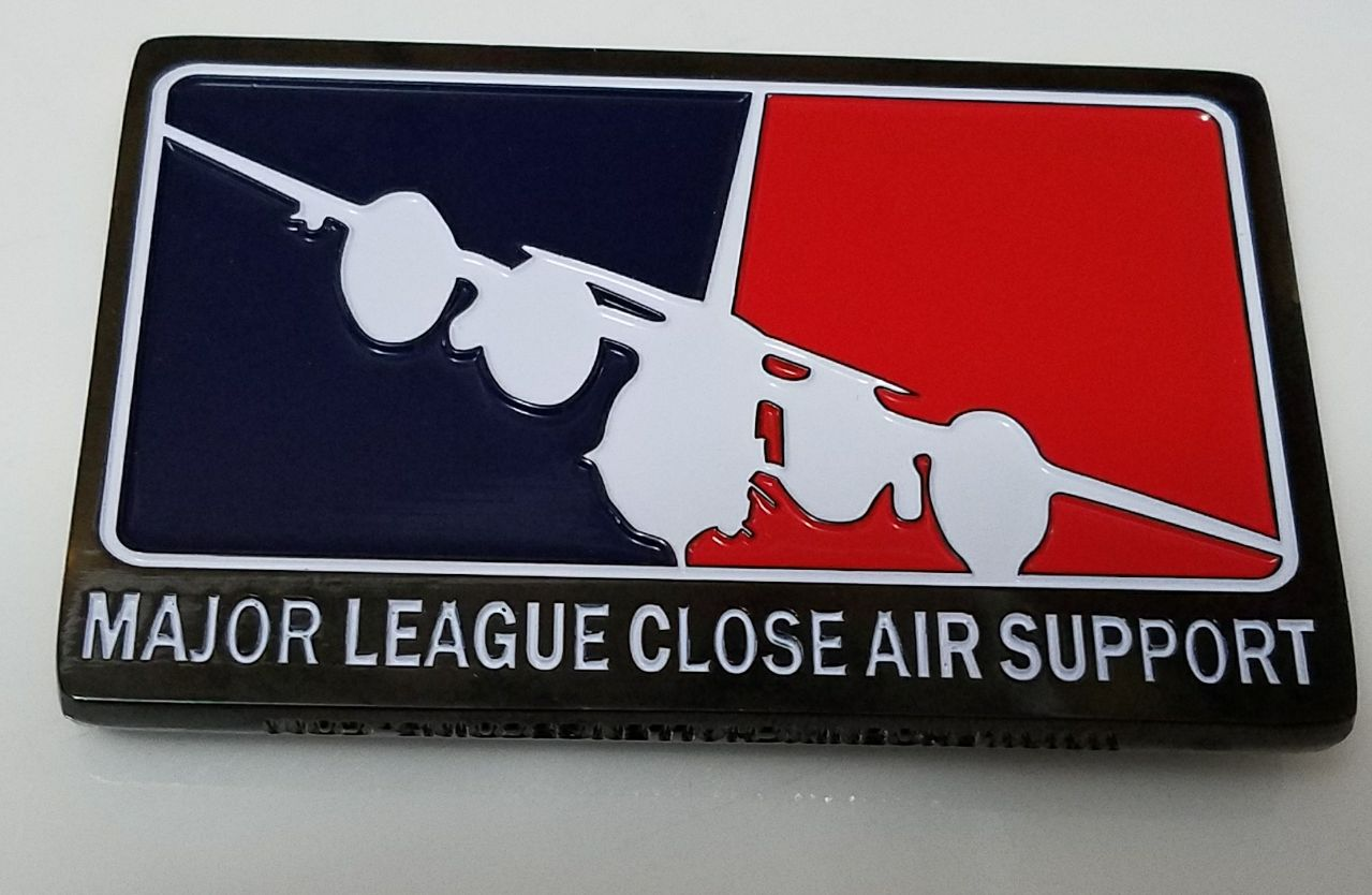Usaf Afsoc Major League Close Air Support Small Rectangle
